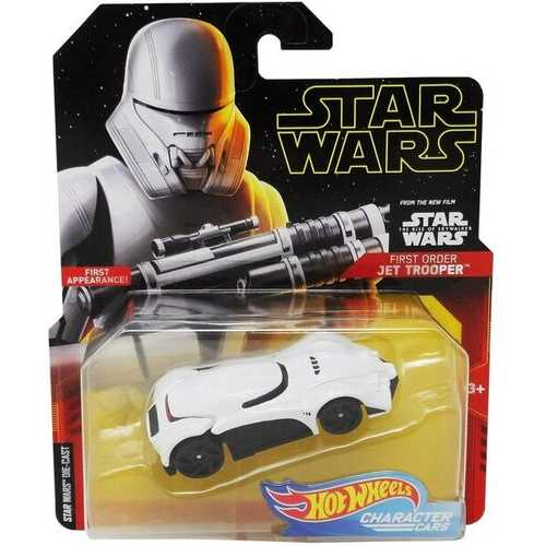 Hot Wheels Character Cars - First Order Jet Trooper - Die-Cast