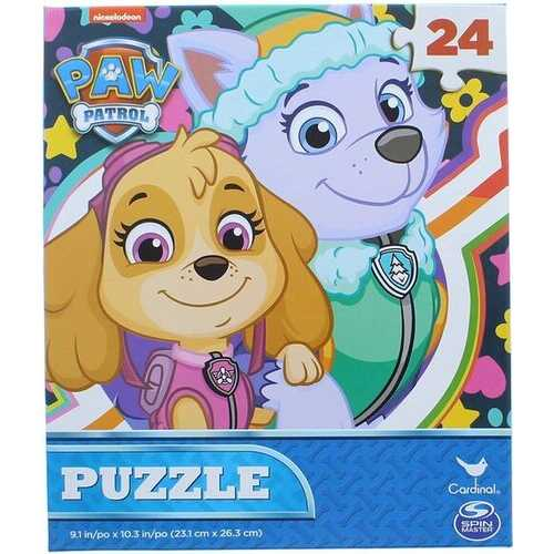 Paw Patrol 3-Pack Puzzle Combo - 24 Pieces Each