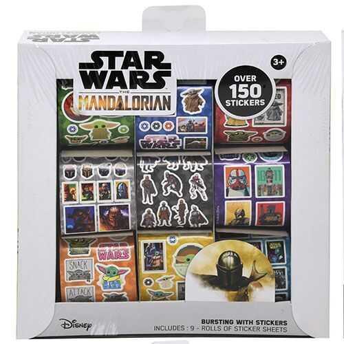 Star Wars The Manalorian Sticker Kit - 9 Rolls - Over 150 Stickers