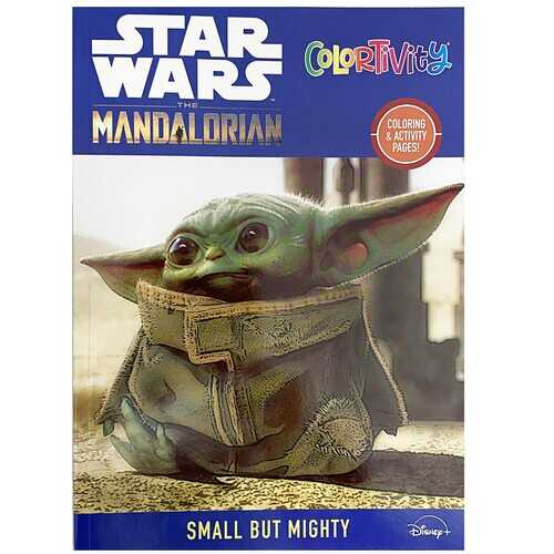 Star Wars The Mandalorian Coloring and Activity Pages - Small but Mighty -