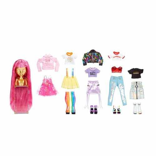 Rainbow High Fashion Studio - Exclusive Doll with Rainbow of Fashions (clothes and accessories)