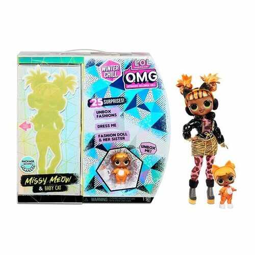 LOL Surprise Winter Chill Missy Meow Fashion Doll
