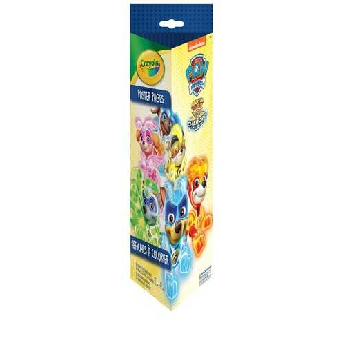 Crayola - Paw Patrol Poster Pages