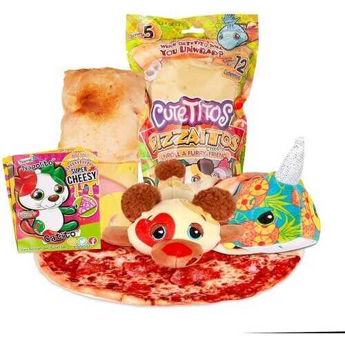 Basic Fun Cutetitos Mystery Stuffed Animals Collectible Plush