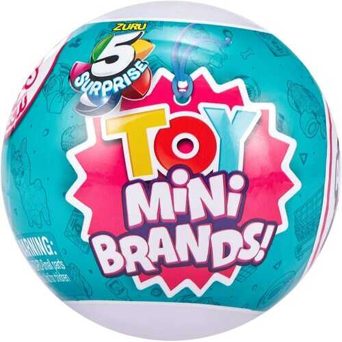 Mini Brands 5 surprise Toy Mini Brands Series 1