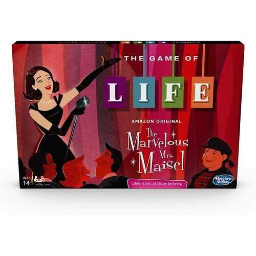 Hasbro Gaming The Game of Life: The Marvelous Mrs. Maisel Edition Board Game