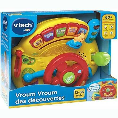 Vtech Vroum Vroum Des Découvertes [Turn and Learn Driver- French version]