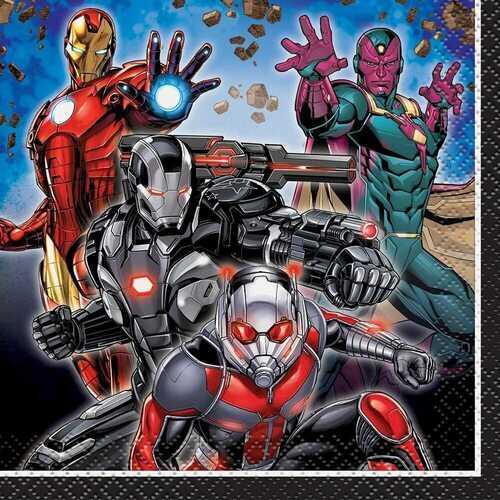 Avengers Beverage Napkins 16ct