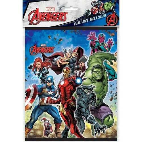 Avengers Goodie Bags 8ct