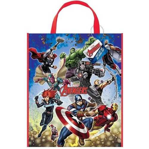 Avengers Plastic Tote Bag [13x11 inches]