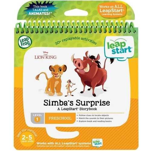 LeapFrog LeapStart 3D The Lion King Simba's Surprise