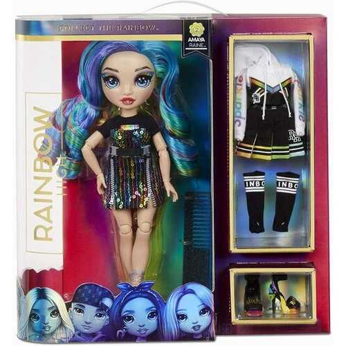 Rainbow High Amaya Raine - Rainbow Fashion Doll with 2 Complete Mix & Match Outfits and Accessories