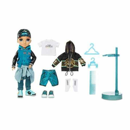 Rainbow High River Kendall - Rainbow Fashion Boy Doll with 2 Complete Mix & Match Outfits and Accessories