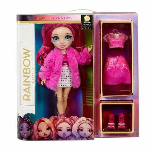Rainbow High Stella Monroe - Rainbow Fashion Boy Doll with 2 Complete Mix & Match Outfits and Accessories