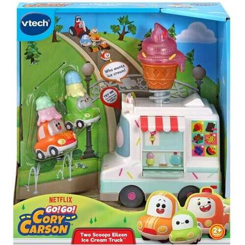 VTech Go! Go! Cory Carson - Two Scoops Eileen Ice Cream Truck (English Version)