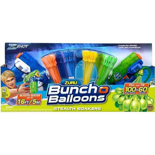 Water Balloons - Bunch O Balloons 2 Stealth Soakers + 4 Bunch O Balloons Promo Pack