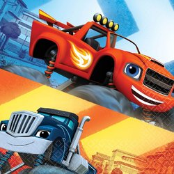 Blaze and the Monster Machines Luncheon Napkins [16 per pack]