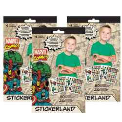 Marvel Comics Stickerland Sticker Set [3 Books]