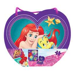Disney Princess 48-Piece Puzzle in Heart-Shaped Box