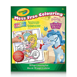 Crayola Color Wonder Book Disney Princess Palace Pets