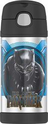 Thermos Funtainer 12 Ounce Bottle Black Panther