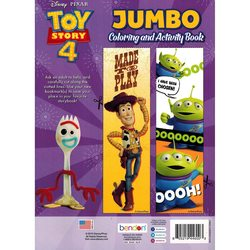 Disney Pixar Toy Story 4 Movie Jumbo Coloring and Activity Book
