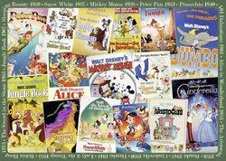 Ravensburger Disney Vintage Movie Posters 1000 Piece Puzzle