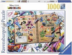 Ravensburger 19816 Disney Pixar Scrapbook Puzzle Set (1000 Piece)