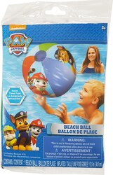 Paw Patrol Inflatable Beach Ball Includes Repair Kit