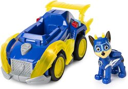 Paw Patrol - Mighty Pups Super Paws - Chase's Deluxe Vehicle with Lights & Sounds