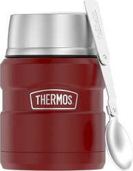 Thermos King 16 Ounce Food Jar - Matte Red
