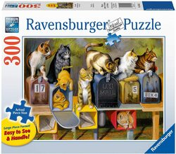 Ravensburger Cat's Got Mail - 300 pc Large Format Puzzle