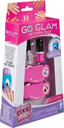 Cool Maker, GO GLAM Daydream Pattern Pack Refill, Decorates 50 Nails with the GO GLAM Nail Stamper - Love Story