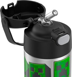 Thermos Funtainer - 12 Ounce Bottle - Minecraft