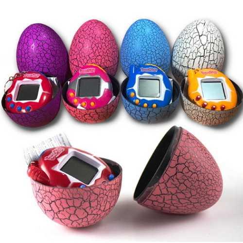 Electronic Virtual Pet In Dinosaur Egg