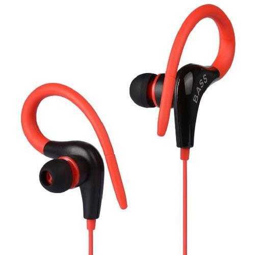 Earphone GSDUN XB13 Ear Hook Sport Headset Light Weight Bass Running Headphone for iPhone 5 5S 6 6S Plus Xiaomi Samsung Earbuds