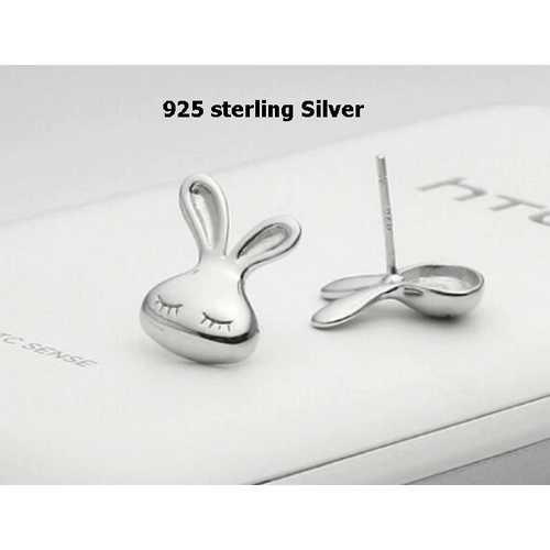 925 sterling silver lovely little rabbit