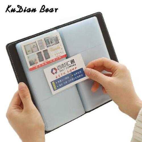 120 Bits Business Card Holder Men Card Wallet Minimalist PU Leather Women Credit Card Holder Tarjetero