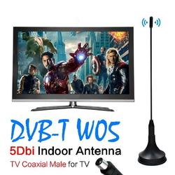 2017 New 5dBi Digital DVB-T TV Antenna Freeview HDTV Antenna Aerial Booster For DVB-T Antena TV HDTV Box