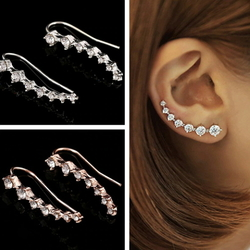 Earring Dipper 7 crystals