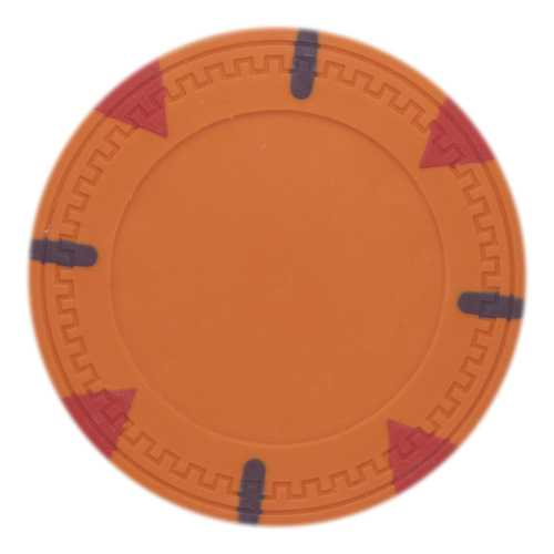 Roll of 25 - Orange Blank Claysmith Triangle and Stick