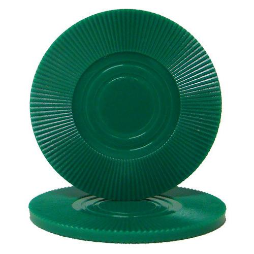 Green Interlocking Radial Chip