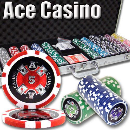 600 Ct - Pre-Packaged - Ace Casino 14 Gram - Aluminum
