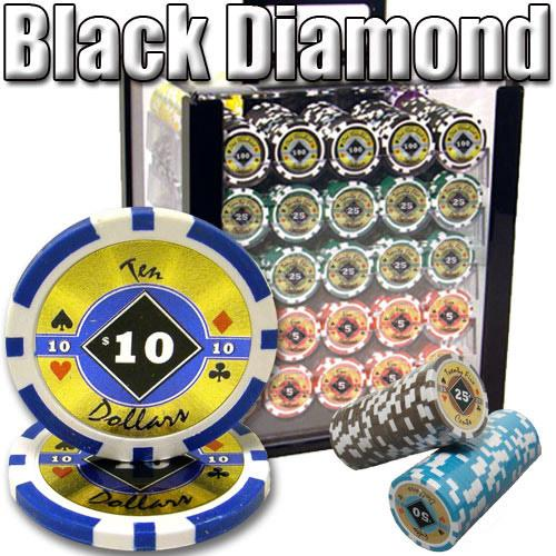 1000 Ct - Custom Breakout - Black Diamond 14 G - Acrylic