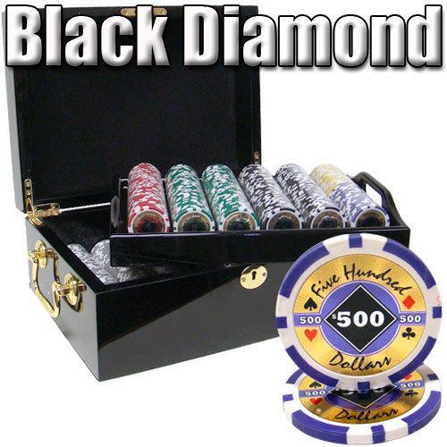 500 Ct - Pre-Packaged - Black Diamond 14 G - Black Mahogany