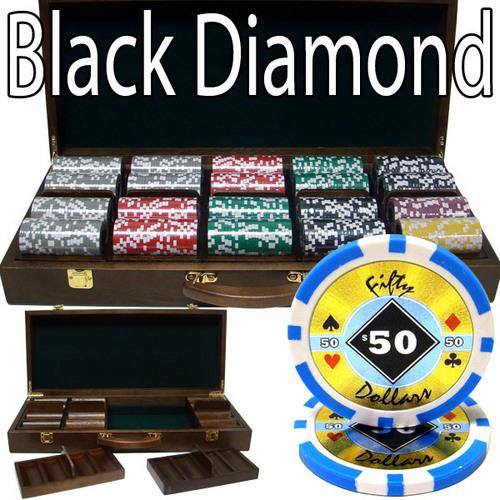 500 Ct - Pre-Packaged - Black Diamond 14 G - Walnut Case