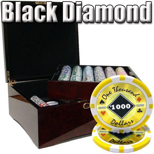 750 Ct - Pre-Packaged - Black Diamond 14 G - Mahogany