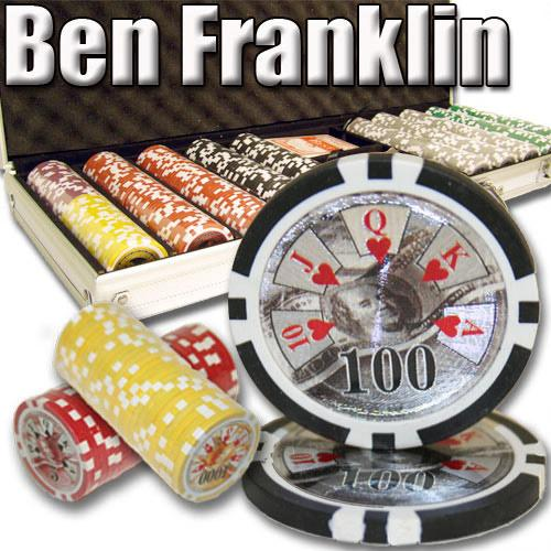 500 Ct - Pre-Packaged - Ben Franklin 14 G - Aluminum