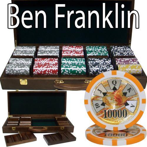 500 Ct - Pre-Packaged - Ben Franklin 14 G - Walnut Case