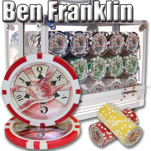 600 Ct - Pre-Packaged - Ben Franklin 14 G - Acrylic